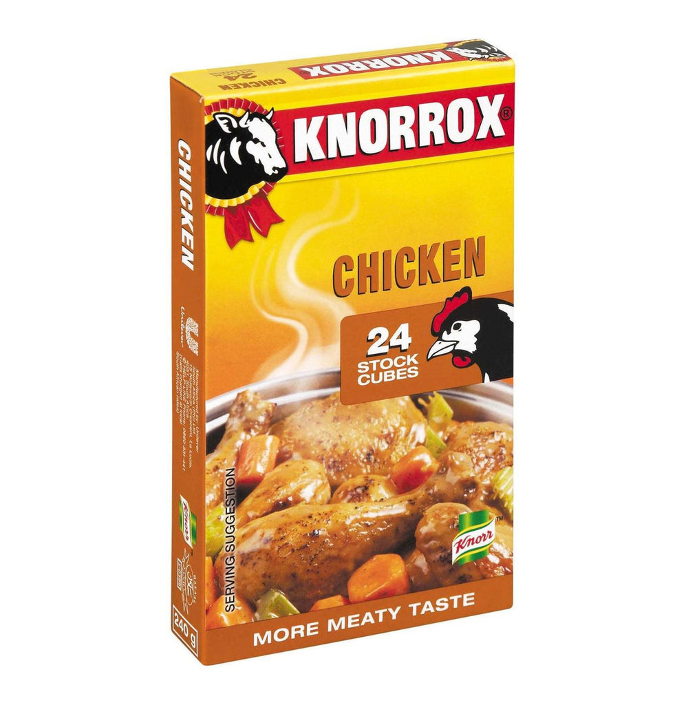 KNORROX STOCK CUBES 24'S CHICKEN
