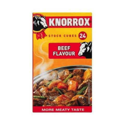 KNORROX STOCK CUBES 24S BEEF