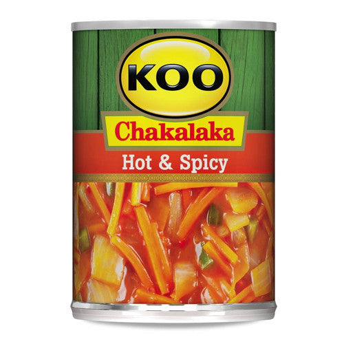 KOO CHAKALAKA 410G HOT AND SPICY