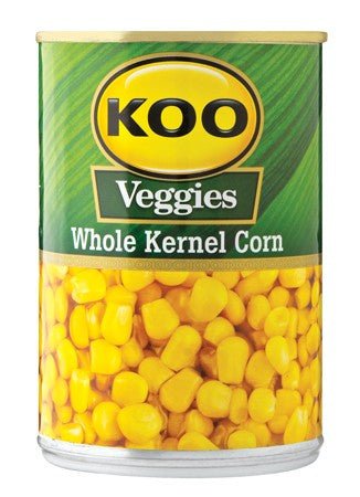 KOO WHOLE KERNEL CORN IN BRINE 410G