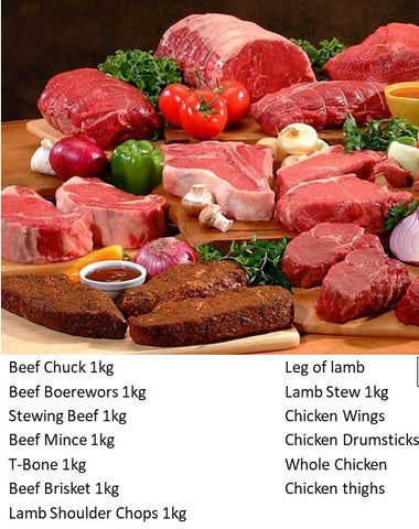 Once-Off: Weekly Large Family Size (4-6ppl) Meat Combo