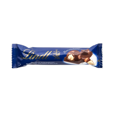 LINDT MILK CHOCOLATE WITH HAZELNUT PRALINE FILLING 40G