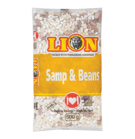 LION SAMP AND BEANS 500G