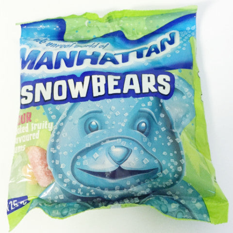 MANHATTAN SWEETS 125G SNOWBEARS