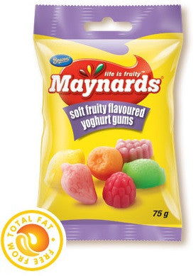 MAYNARDS SOFT YOGHURT GUMS 75G