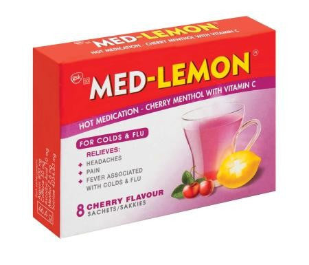 MED-LEMON 8 SACHETS CHERRY