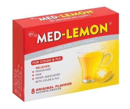 MED-LEMON 8 SACHETS ORIGINAL