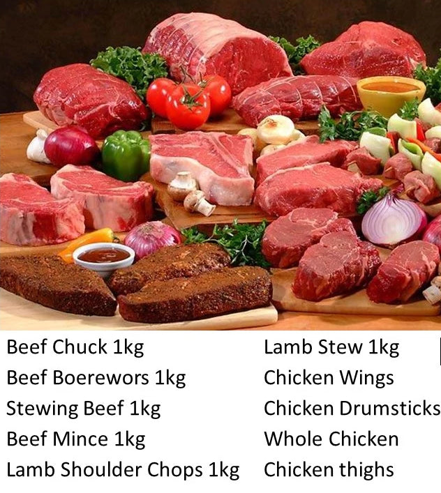 Once-Off: Weekly Small Family Size (3-4ppl) Meat Combo