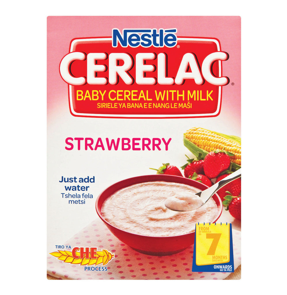 NESTLE CERELAC INFANT CEREAL S/BERRY 250G
