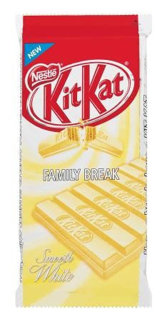 NESTLE KIT KAT WHITE CHOCOLATE 150G