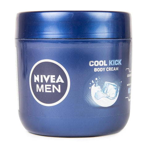 NIVEA BODY CREAM 400ML TUB COOL KICK MEN
