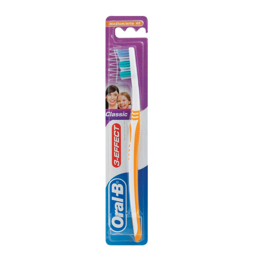 ORAL B 3 EFFECT CLASSIC