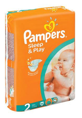 PAMPERS SLEEP&PLAY 68'S NO2
