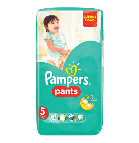 PAMPERS PANTS 48'S NO5