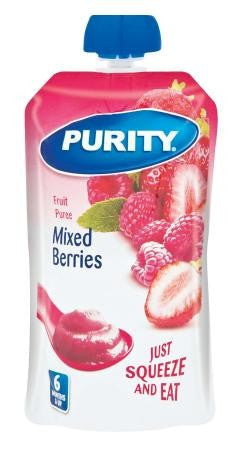 PURITY 2ND FOODS 110ML MIXED BERRIES