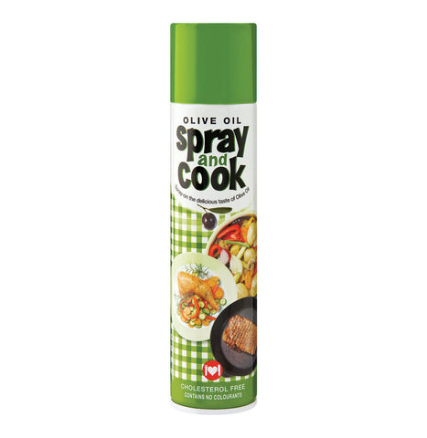 SPRAY & COOK OLIVE OIL 300ML