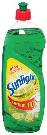 SUNLIGHT DISHWASH LIQUID 750ML
