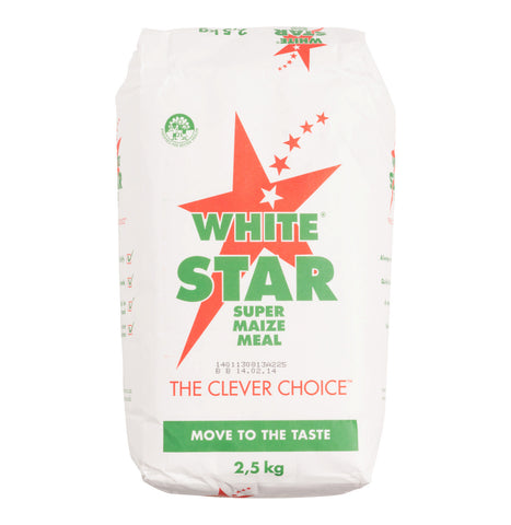 WHITE STAR MAIZE MEAL 2.5KG