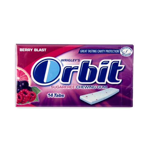 ORBIT GUM BERRY BLAST 14'S
