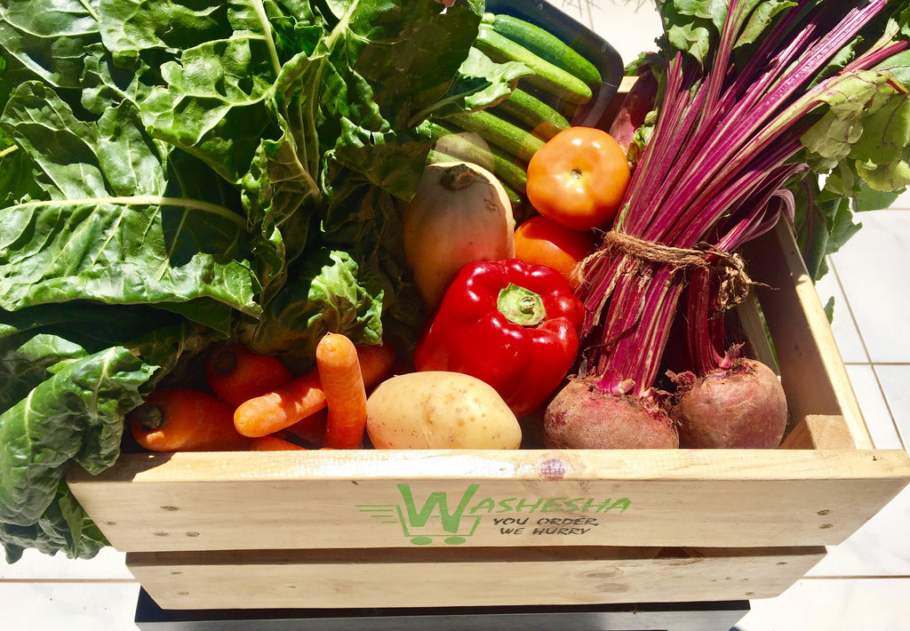 Subscription: 4x Weekly Supplies Single Person's Vegetable Crate