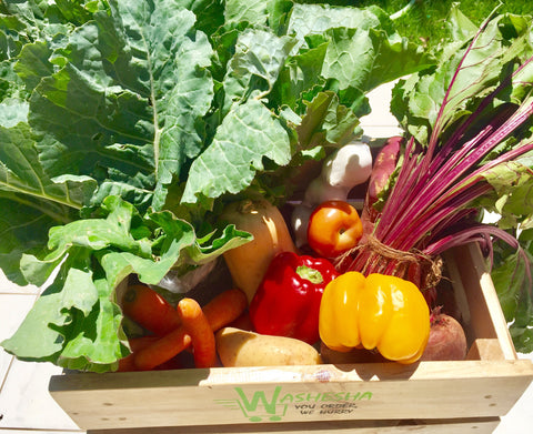 Subscription: 4x Weekly Supplies Couple's Vegetable Crate