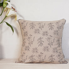 Load image into Gallery viewer, Wildflower Cushion Cover, Beige