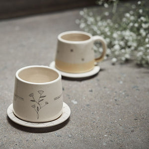 Bougainvillea Tea Cups