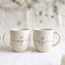 Load image into Gallery viewer, Lily Coffee Mugs ( Set of 2 )