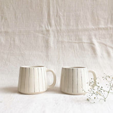 Load image into Gallery viewer, Stripe Teacups ( Set of 2 )