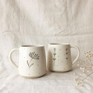Sunflower Garden Coffee Mugs (Set of 2)
