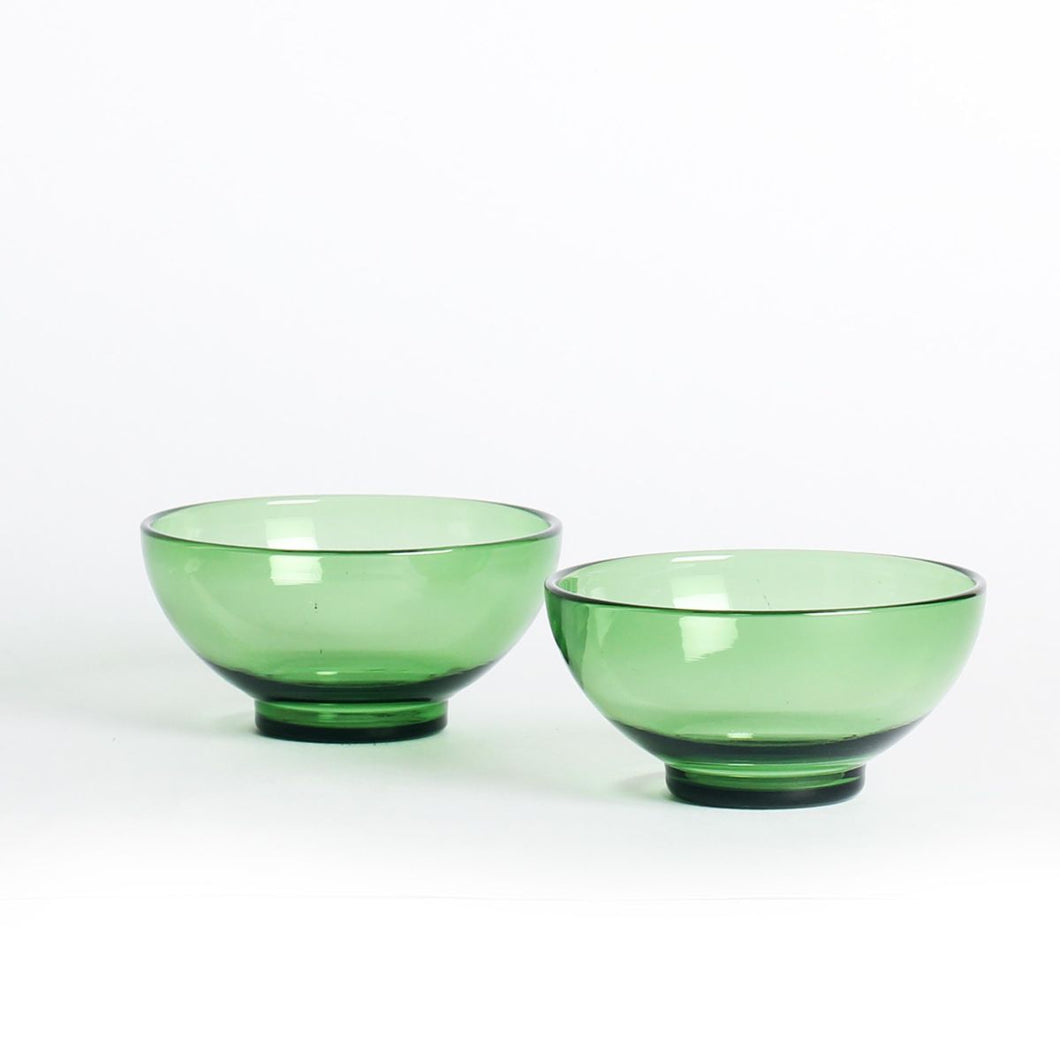 Juliette Chip n Dip Bowls GREEN (Set of 2 )