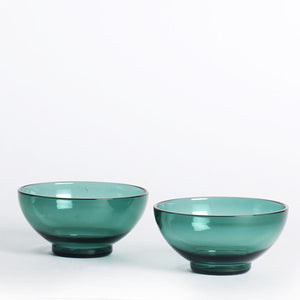 Juliette Chip n Dip Bowls TEAL (Set of 2 )