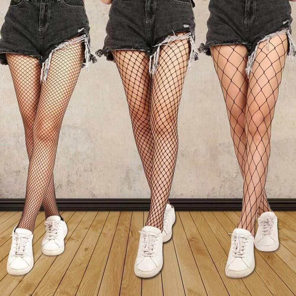 'Fishnet Tights' Set of 3