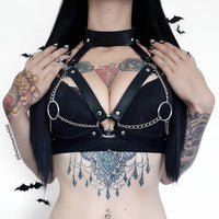 'Gates Of Hell' Harness bra