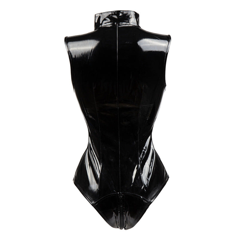 'Hail' Latex PU Bodysuit