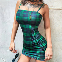 'Roxy' Plaid Dress