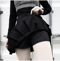 'Daring' Lace Up Skirt