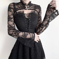 'Departed' Lace bolero
