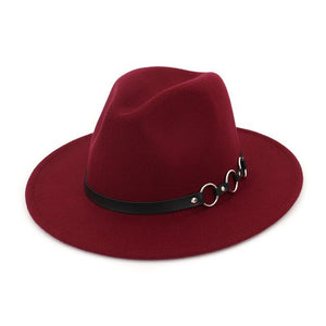 Triple O ring fedora hat