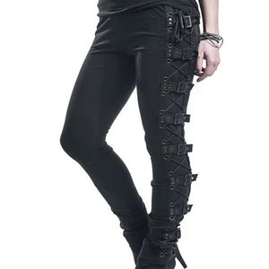 'Creepshow' Buckle Pants
