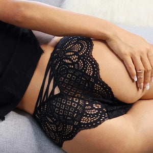 Black Lace Underwear