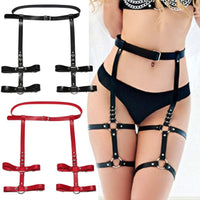 Double garter harness