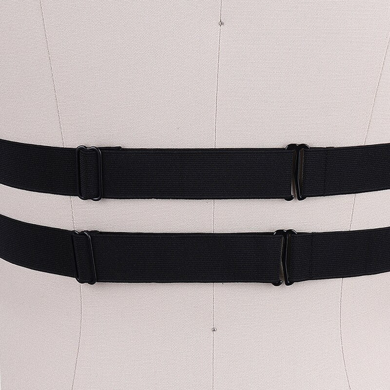 'Deadly' studded elastic harness
