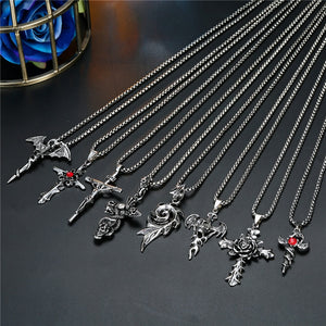 Alternative Stainless Steel Pendant Necklaces