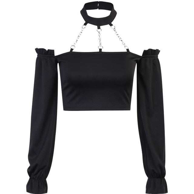 'Wrecking Ball' chain long sleeved top