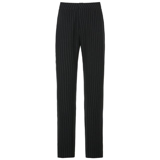 'Farewell' Striped Pants