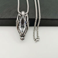 'Savage' Bat Style Crystal Necklace