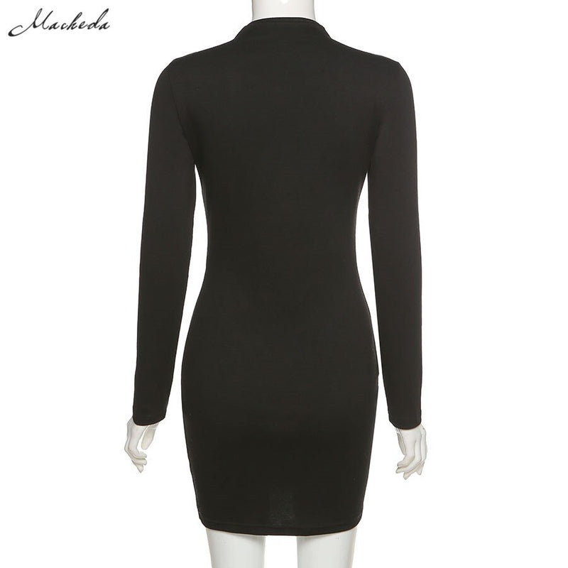 'Last Dance' Long Sleeve Dress