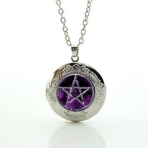 Pentagram Wicca Pendant Charm Necklace