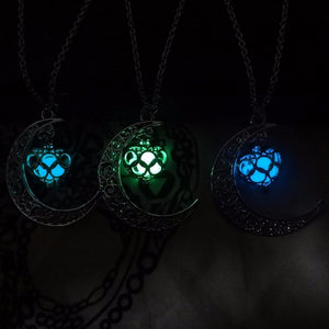 Luna Glow In The Dark 4 Colour Necklace